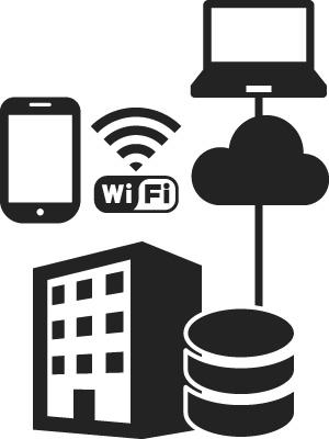 ネットワーク構成は有線・無線LANで構築